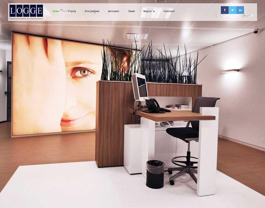 website-Logge