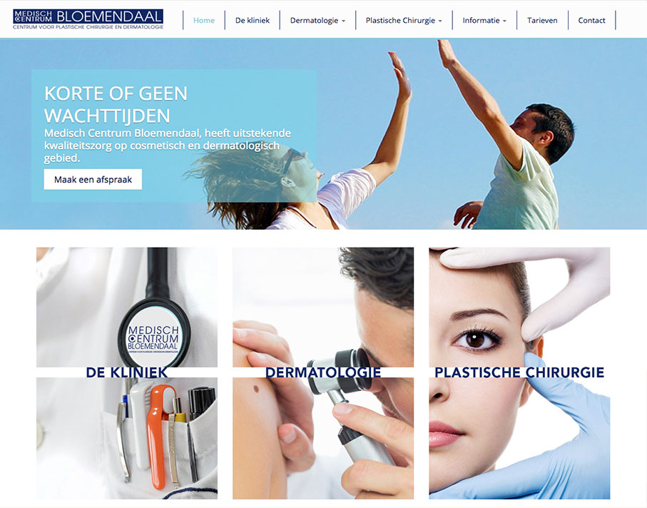 MC Bloemendaal Website