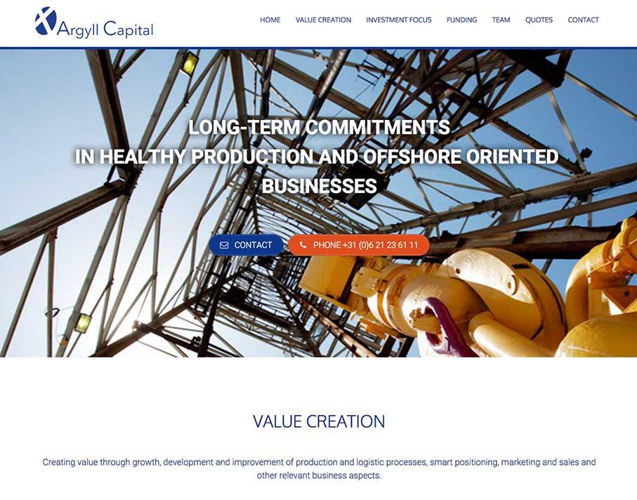 ArgyllCapital Website