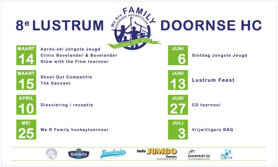 Lustrum Agenda 2015