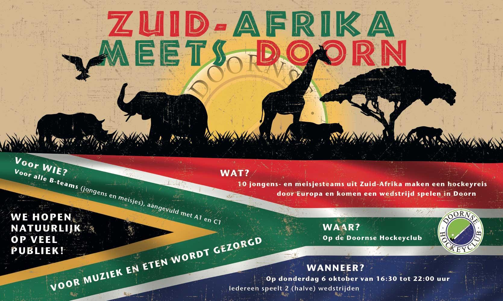 Zuid-Afrika meets Doorn Banner
