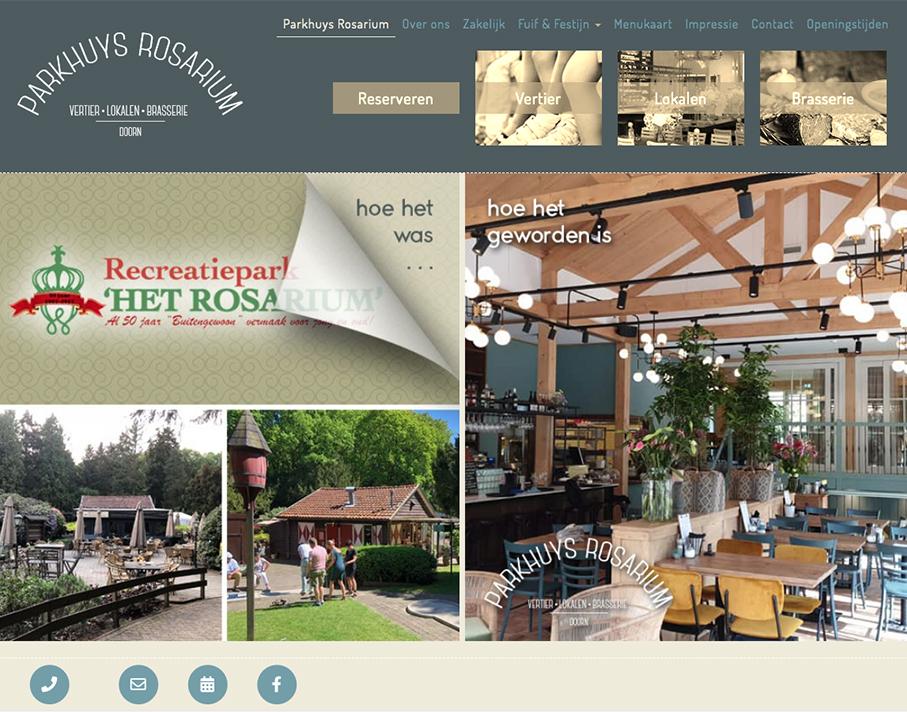 Parhuys Rosarium Website