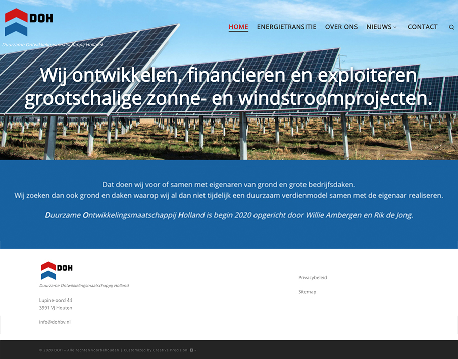DOH Website