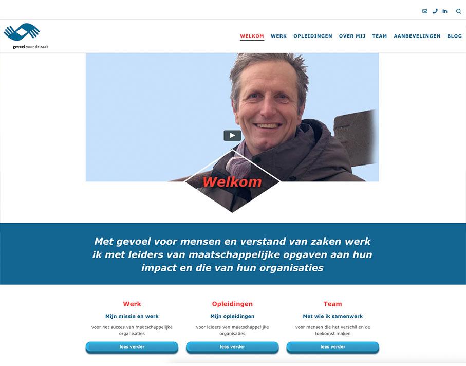 Gevoel voor de Zaak Website